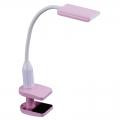 LEDデスクランプ クランプタイプ ピンク [品番]07-8424