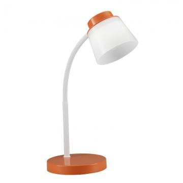 LEDデスクランプ オレンジ [品番]07-8410