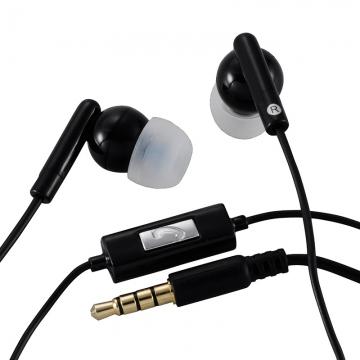 AudioComm ステレオイヤホン 黒 [品番]03-2872