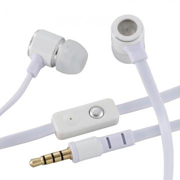 AudioComm ステレオイヤホン 白 [品番]03-2875