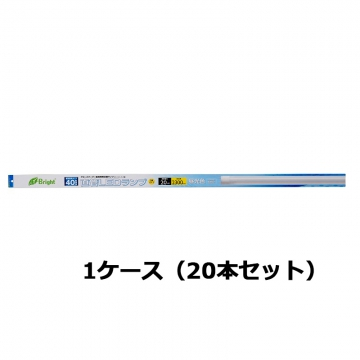直管LEDランプ 40形相当 G13 昼光色 20本セット [品番]06-3190