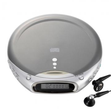 AudioComm ポータブルCDプレーヤー801 [品番]07-9801
