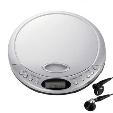 AudioComm ポータブルCDプレーヤー802 [品番]07-9802