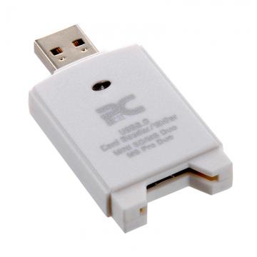 ミニSD/MS DUO用カードリーダー/ライター [品番]01-0520