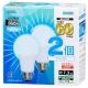 LED電球 E26 60形相当 昼白色 2個入 [品番]06-0618