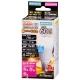 LED電球 ミニクリプトン形 E17 60形相当 防雨タイプ 電球色 [品番]06-3267