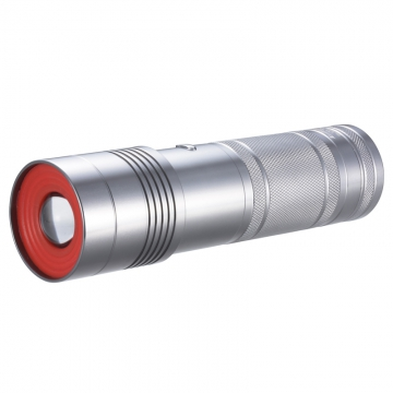 LEDズームライト 防水 YKS3123 [品番]07-8466