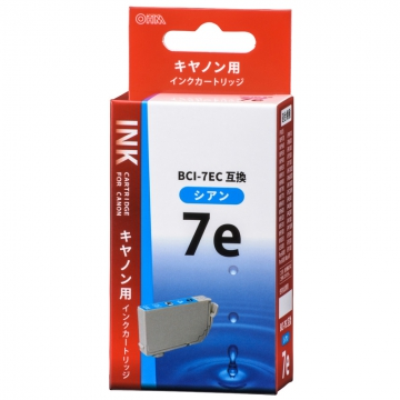 キヤノン互換 BCI-7EC 染料シアン [品番]01-4196