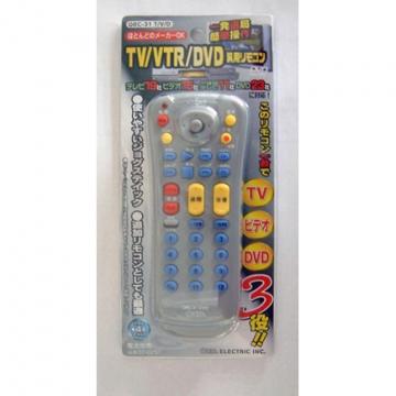TV/VTR/DVD汎用リモコン ORC-31TVD [品番]07-0757