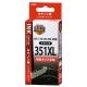 キヤノン互換 BCI-351XLBK 染料ブラック [品番]01-4159