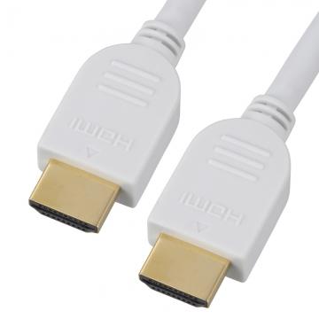 イーサネット対応 HDMIケーブル 白 1m [品番]05-0335