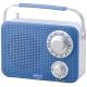 AudioComm AM/FM キッチンシャワーラジオ ブルー [品番]07-8612