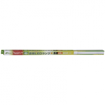 直管LEDランプ ラピッドスタート形器具専用 40形相当 G13 昼白色 [品番]06-2983