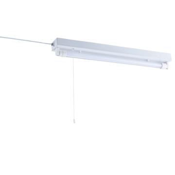L形ピン直管LED照明器具 20W形 昼光色 コンセントタイプ [品番]07-8490