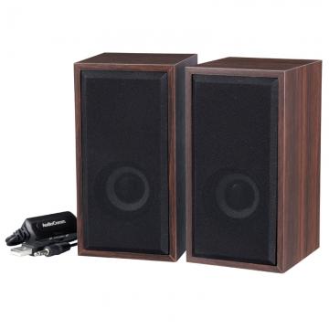 AudioComm 木目調USBスピーカー [品番]03-2061