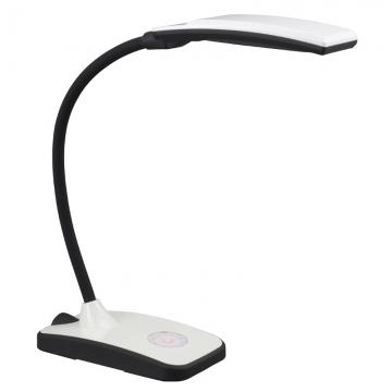 明るさ6段階調光 LEDデスクスタンド 白 [品番]07-7850