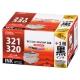 キヤノン互換 BCI-321+320/5MP 顔料ブラック2個+染料4色 [品番]01-4260