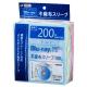 ブルーレイ&DVD&CDスリーブ 2枚収納 100枚入 5色 [品番]01-3720