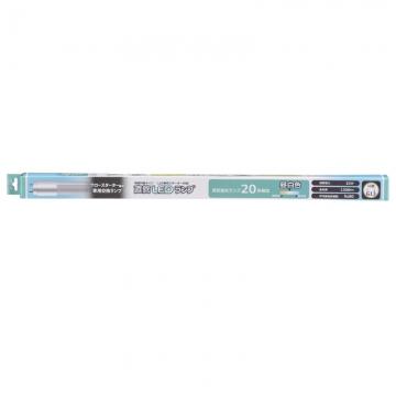 直管LEDランプ 20形相当 G13 昼白色 [品番]06-1815