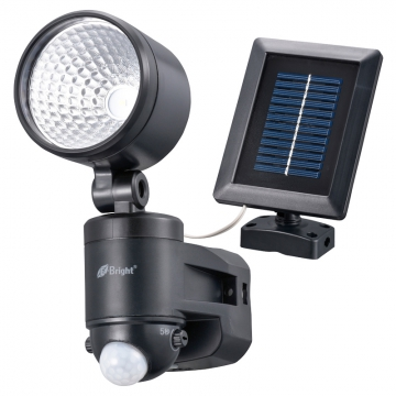 LEDセンサーライト ソーラー発電式 1灯 [品番]07-9921