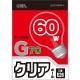 白熱ボール電球 60W E26 G70 クリア [品番]06-0539
