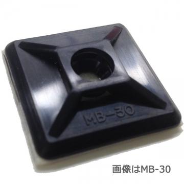 ロックタイベース MB-40 ブラック 50個入 [品番]00-9608