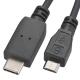 USB Type-C/microB 接続ケーブル 1m [品番]01-3708