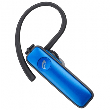 AudioComm ワイヤレスイヤホン Bluetoothシングルイヤホン ブルー [品番]03-1149