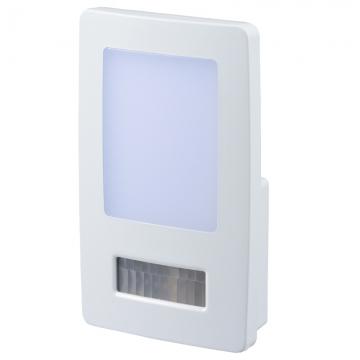 LEDナイトライト 人感・明暗センサー 白色LED [品番]06-0130