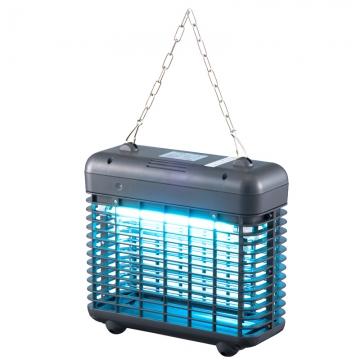 電撃殺虫器 自動点灯 AC式 3000V [品番]07-8064