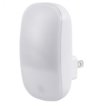 LEDナイトライト 明暗センサー 電球色LED [品番]07-8837