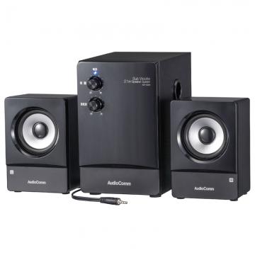AudioComm 2.1ch スピーカーシステム [品番]03-2063