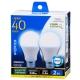 LED電球 一般電球形 40形相当 E26 昼光色 2個入 [品番]06-0774