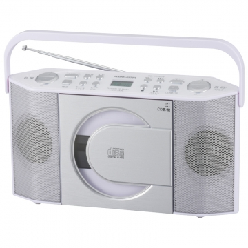 ポータブルCDラジオ [品番]07-8211