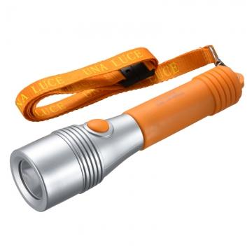 LED懐中ライト ウナルーチェII オレンジ [品番]07-8915