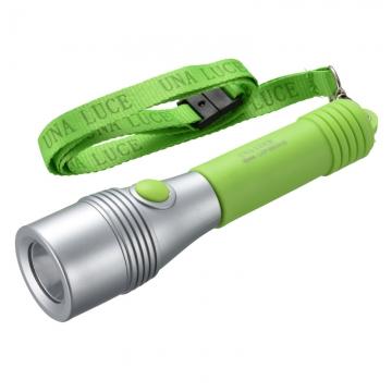 LED懐中ライト ウナルーチェII グリーン [品番]07-8916