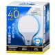 LED電球 ボール形 E26 40形相当 昼光色 [品番]06-0756