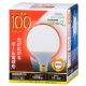 LED電球 ボール形 E26 100形相当 電球色 [品番]06-0759