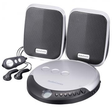 AudioComm ポータブルCDプレーヤーセット [品番]07-8798
