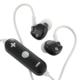 AudioComm ワイヤレスイヤホン ブラック [品番]03-0335