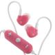 AudioComm ワイヤレスイヤホン ピンク [品番]03-0336