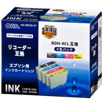 エプソン互換 リコーダー 顔料4色パック [品番]01-4312
