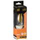 LED電球 フィラメント シャンデリア形 E17 40形相当 [品番]06-3466