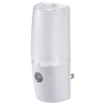 LEDナイトライト 光量自動調整 明暗センサー 白色LED [品番]06-0631