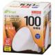 LED電球 ビームランプ形 散光形 E26 100形相当 電球色 [品番]06-3123