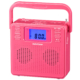 AudioComm ステレオCDラジオ ピンク [品番]07-8957