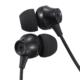 AudioComm ステレオイヤホン カナル型 ブラック [品番]03-2243