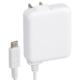 AC充電器 USB TypeC一体型 2.4A 白 1.5m [品番]01-7081