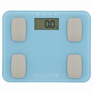 体重体組成計 ブルー [品番]08-0031