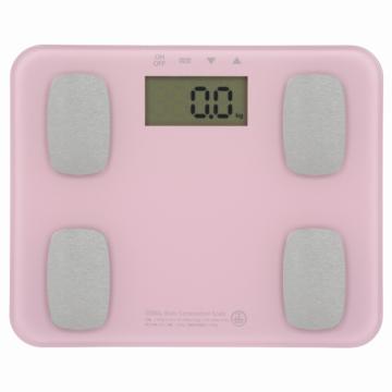 体重体組成計 ピンク [品番]08-0032